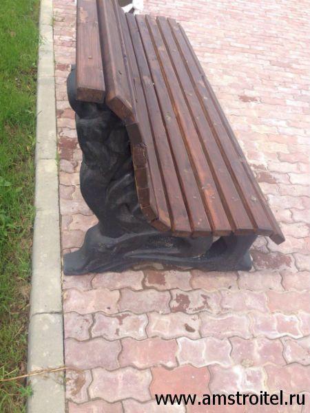 купите бетонная скамейка от производителя