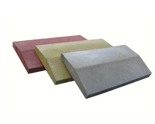 Крышки бетонные на забор 390х270