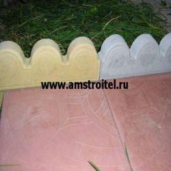 Декоративный бордюр для клумб