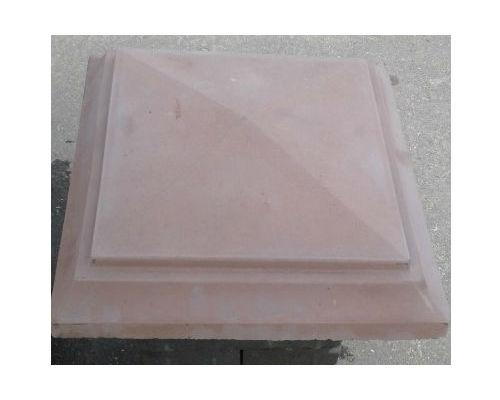 Крышки бетонные на столбы 315х315х90