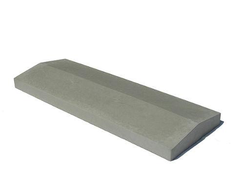 Крышки бетонные на забор 500х180