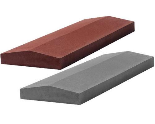 Крышки бетонные на забор 500х300